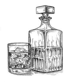 10+ Down The Hatch ideas | cocktail illustration, bottle ...