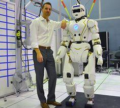 Check Out Valkyrie: NASA's 6 Foot Tall Search and Rescue Robot #ZAGGdaily #NASA #Valkyrie #rescuerobot