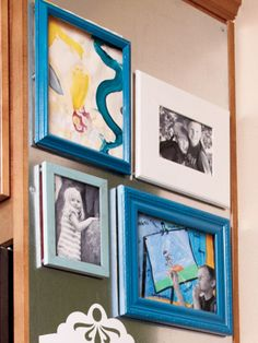 Woman's Day | Check out how this one mom turned an unused space into a family command center.