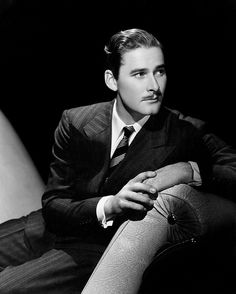 "Errol Flynn Crushing so hard.  A girl can""t help it."