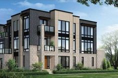 modern townhomes town houses