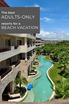 Choosing an all-inclusive resort for your adults-only beach vacation can be overwhelming. How do you know which one will be ideal for your vacation needs? There is a different all-inclusive, adults-only resort for your honeymoon verse your bachelorette party verse your girls getaway. Here are five resorts ideal for every type of adults-only vacation. Which one will you pick? | The Keys to Travel All Inclusive Beach Resorts, Couples Resorts, Best Resorts, Best Vacations, Hotels And Resorts, Vacation Places, Vacation Destinations, Vacation Spots, Romantic Destinations