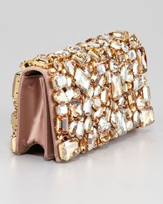 prada embellished velvet evening bag