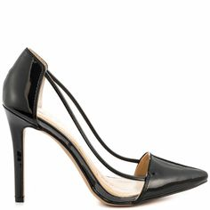 Calkins - Black Patent by Jessica Simpson..these shoes are perfect for the trendy business ladies.