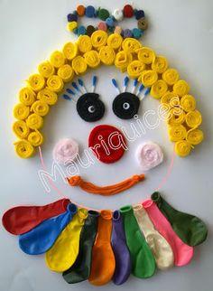 Mauriquices: Palhaço Balão!!!