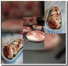 La popote de Fibie - Cuisine saine et équilibrée Caramel Mou, Crepes, Sausage, Wicked, Brunch, Meat, Breakfast, Food, Almond Milk