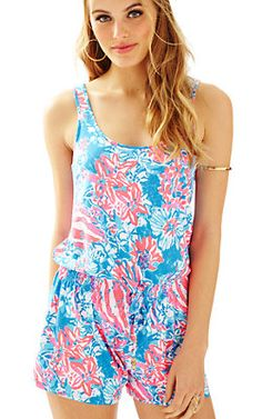 d627fa5a6bd Lilly Pulitzer Tala Romper Jumpsuits For Women