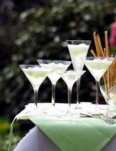 Prosecco mit Zitronensorbet - Silvester: Exklusives Partybuffet - 20 - [ESSEN & TRINKEN]