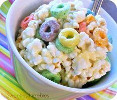 Cereal Popcorn Balls