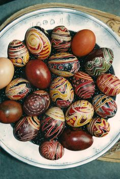 easter eggs by Sibylle Weick