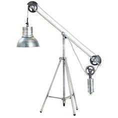 Weighted Pendulum Desk Lamp