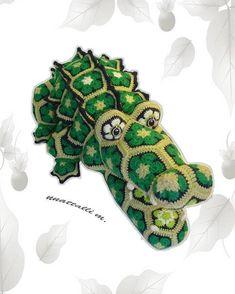 African flower Cro Kid-Dill pattern PDF file by nnattalli