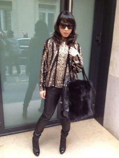 Yukimi in Elie Saab Haute Couture