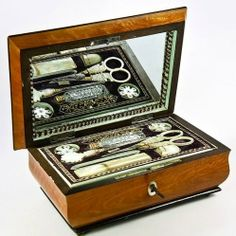 1700 French Royal sewing box