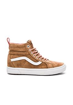 e5ae5a0e47 Vans SK8-Hi Slim Cutout Sneaker in Silver Cloud   True White