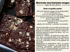 Le Brownie aux Haricots Rouges ! |