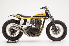 Yamaha XS 650 Dirt Track by Palhegyi Design