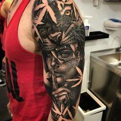 "1,227 likerklikk, 20 kommentarer – ALEX YOUNG (@alexyoungtattoo) på Instagram: ""Realizado en @utopiantattootribe @balm_tattoo Dragon Blood #tattoo #tatuaje #ink #inked…"""