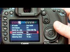 ▶ HDSLR 101 #4: Setting up your HDSLR for shooting video - YouTube