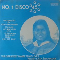 Lata Ramasar - The Greatest Name That Lives (1980) #VinylTrails