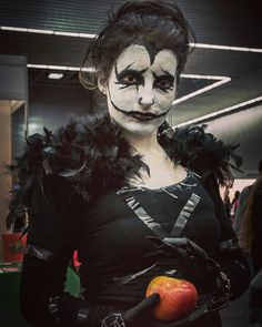 #japanweekend #japanweekendbilbao #cosplay #cosplayer #costume #animecosplay #anime #deathnote #riuk #apple #dark #manga #geek