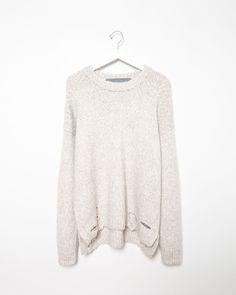 RAQUEL ALLEGRA | Alpaca Pullover Sweater | Shop at La Garçonne