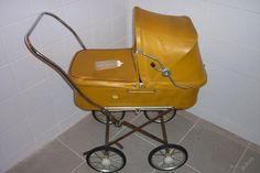 Star� retro ko��rek pro panenky Pram Stroller, Baby Strollers, Baby Buggy, Prams, Wheelbarrow, Retro, Children, Dolls, Vintage