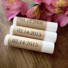 Lip balm is one of those items you can never get enough of. After all, they are so compact that you can slip one in your pocket, your bag, and your bedside table, so you'll be able to stay moisturized everywhere you go. You can get customized lip balm here from prices starting as low as $0.46. Source: Etsy user GingerandWaldo