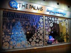 #window #display #inspiration #windowdesign  #snowflakes #window #winter #xmas