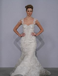 Sweetheart Mermaid Wedding Dress  with Natural Waist. Bridal Gown Style Number:32023103