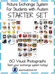 PECS Starter Kit- For Students with Autism or Communication Needs. Printable and Ready to Go!