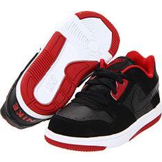 1ec76735eaf Nike kids delta force low infant toddler black varsity red black