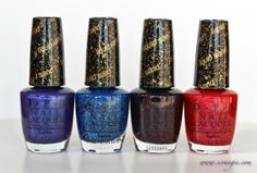 """OPI """"liquid sand"""" colours, Mariah Carey collection"""