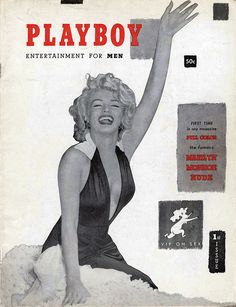 Photographer Unknown. Marilyn Monroe, first cover of Playboy, December 1953. S)