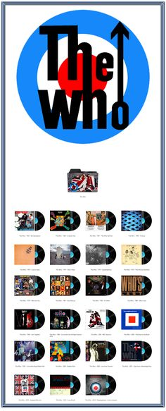 Album Art Icons: The Who Discography Icons (ICO & PNG)