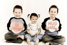 every year take some Valentine pictures of my kids to send out in cards to family and friends.