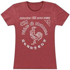 Sriracha Tuong Ot Sriracha Bottle Label Girls Jr Soft Tee Small Sriracha http://www.amazon.com/dp/B00DP41Z5C/ref=cm_sw_r_pi_dp_6I9Aub13759J1