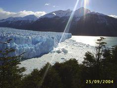 Perito Moreno: The sound of silence, and suddenly...