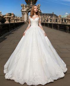 Dress models and wedding dress models and ideas Seba wedding dresses Bakirkoy . Cute Wedding Dress, Beautiful Wedding Gowns, Princess Wedding Dresses, Dream Wedding Dresses, Bridal Dresses, Gown Wedding, Lace Wedding, Lace Bride, White Wedding Dresses