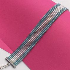 #bracelet #jewelry #handmade #beads #perles #miyuki #turquoise #mavihandmade #madeinmarseille