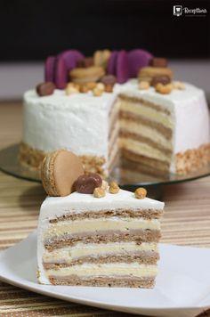 Torte Recepti, Kolaci I Torte, Baking Recipes, Cookie Recipes, Dessert Recipes, Rodjendanske Torte, Torta Recipe, Baklava Recipe, Sweet Cooking