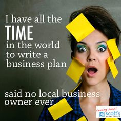 Said no local business owner ever... get tips for writing a killer business plan.
