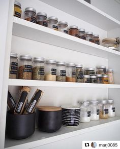 This spice display is a work of art. : @marj0085