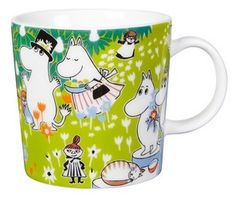 The adorable Tove 100 moomin mug 2014 from Finnish Arabia is a tribute to the famous author and illustrator Tove Jansson. In 2014 the the moomin charachters mother would have turned 100 years and the jubilee mug has its inspiration from Tove Janssons book Moomin Shop, Moomin Mugs, Tove Jansson, My Collection, Finland, The Book, Hygge, Childhood, Anniversary