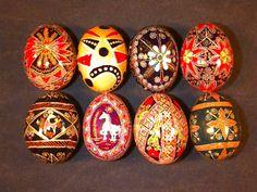 ukrainian eggs | Pysanky - Ukrainian Easter Eggs