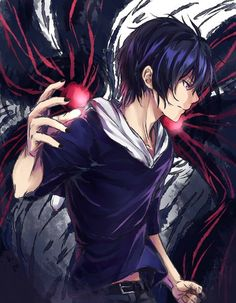 Ayato . He has the power to destroy the world if he wants . He usually is nice . Sometimes a voice in his head tells him what to do