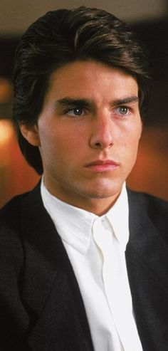 Tom Cruise. Rain man.  ♡