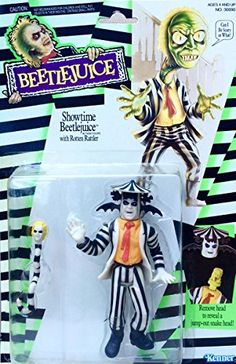 Showtime Beetlejuice with Rotten Rattler Action Figure @ niftywarehouse.com