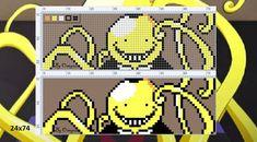 Minecraft Kunst, Minecraft Pixel Art, Kandi Patterns, Alpha Patterns, Cross Stitch Embroidery, Cross Stitch Patterns, Modele Pixel Art, Pixel Art Grid, Fuse Beads