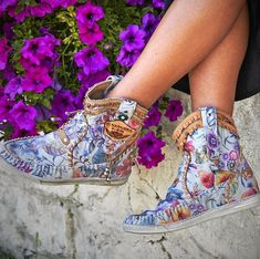 Boot Type: Fashion Boots Toe: Round Toe Closure Type: Slip-On Shaft Height: Mid-Calf Platform Height:. Bohemian Shoes, Boho Boots, Casual Boots, Boho Gypsy, Cowgirl Boots, Over Boots, Slip On Boots, Fashion Boots, Boho Fashion